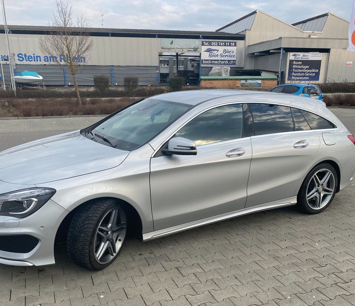 Mercedes-Benz CLA-Klasse X117 Shooting Brake CLA 200 d AMG Line 4 matic
