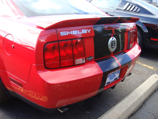 Mustang SHELBY GT500 SVT, 2010 Ford (USA) 2