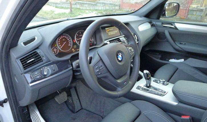 BMW X3 2.0 xDrive M-Sportpaket Audi 3