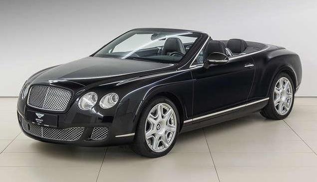 Bentley Continental GTC W12 Bentley 3