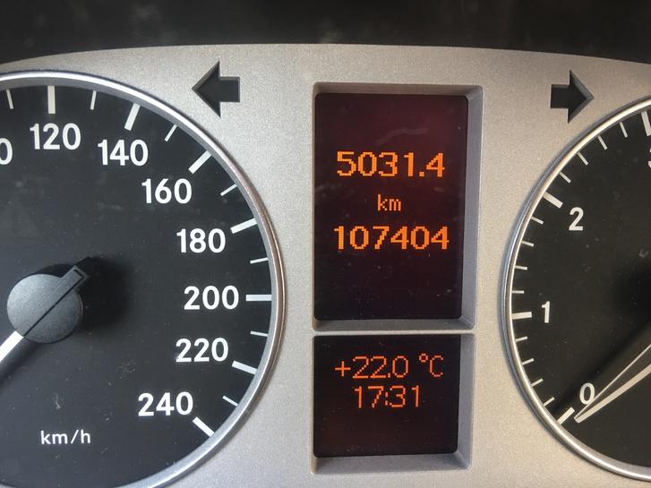 Mercedes B 200  Automat mit Frisch MFK Mercedes 4