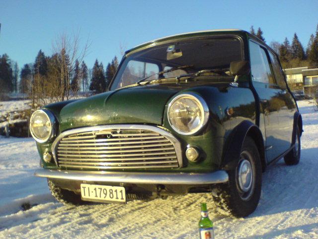 Innocenti mini mk2, 1969, 70'000 km Innocenti 1