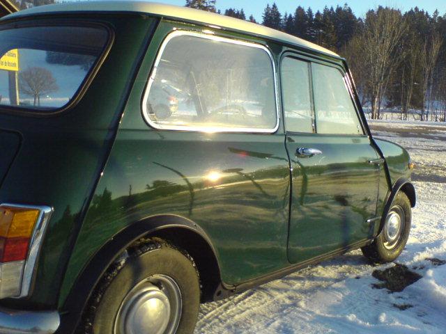 Innocenti mini mk2, 1969, 70'000 km Innocenti 2