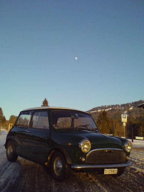 Innocenti mini mk2, 1969, 70'000 km Innocenti 4