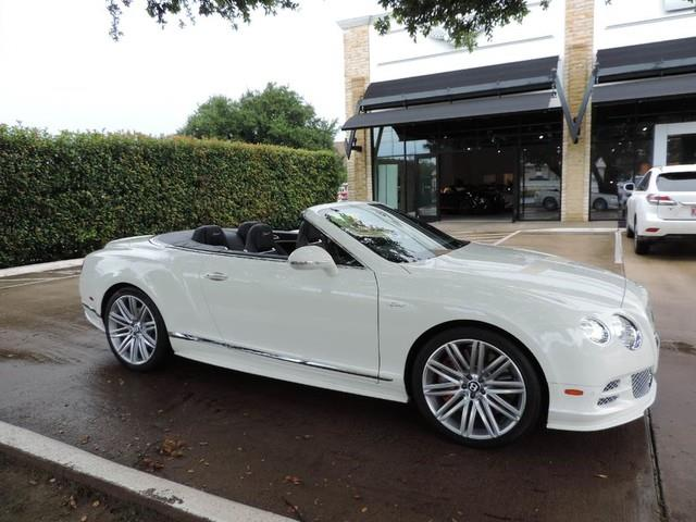 2015 Bentley Continental GTC Geschwindigkeit - AWD 2dr Cabriolet Bentley 1