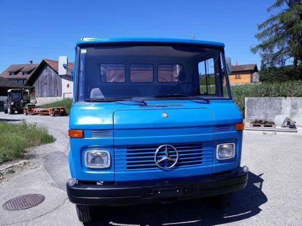 Rarität Wohnwagen  Mercedes-Benz 2