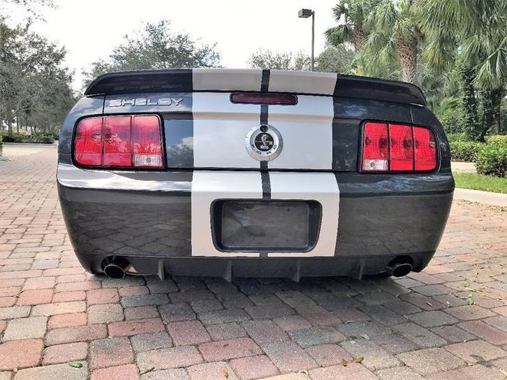 Ford Shelby Mustang GT500 Ford 3