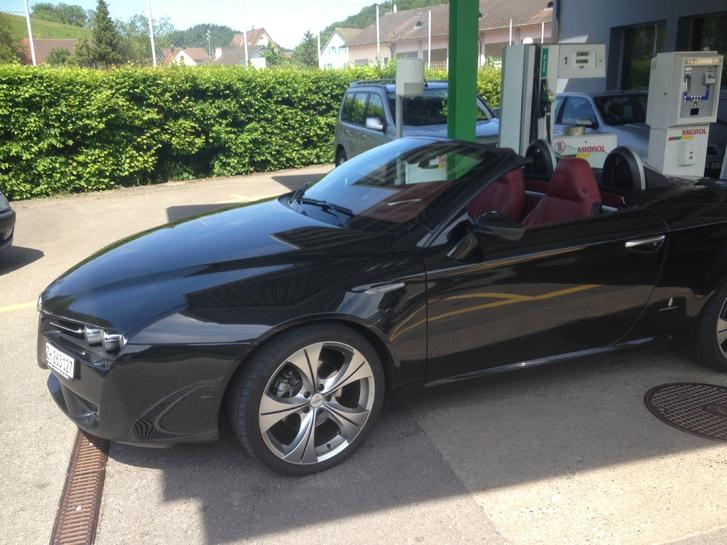 Alfa romeo spyder 2.0 Audi 1