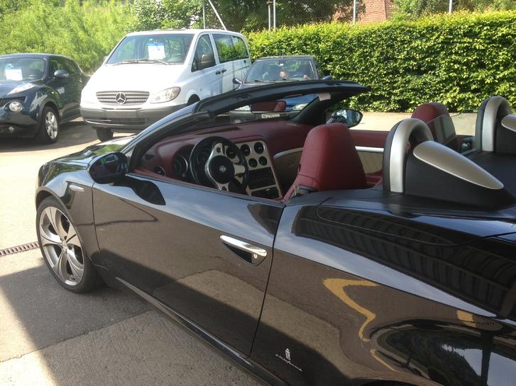 Alfa romeo spyder 2.0 Audi 2