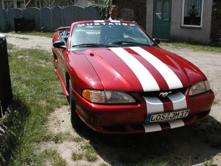 Mustang GT Cabrio Ford (USA) 1