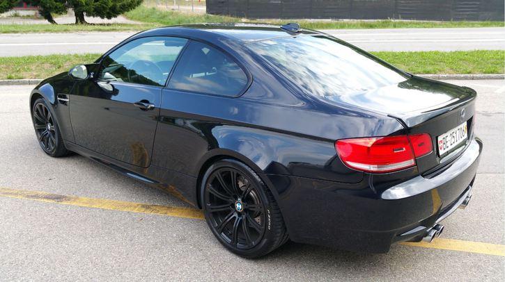 BMW M3 E92 - 420 PS - V8 - schwarz BMW 2