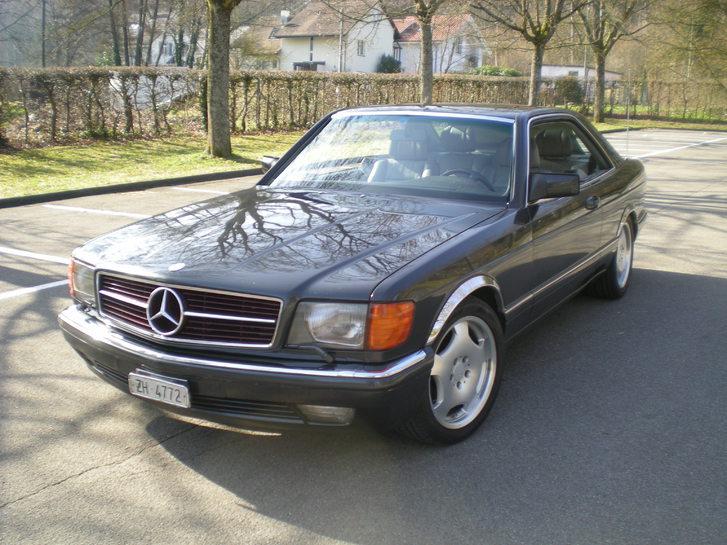 Mercedes 500 SEC Mercedes-Benz 1