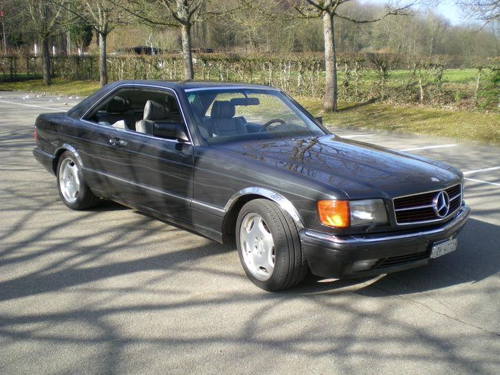 Mercedes 500 SEC Mercedes-Benz 2