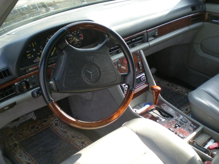 Mercedes 500 SEC Mercedes-Benz 4