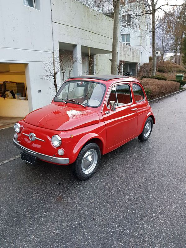 Fiat 500 Jahrgang 1968 ***Total Restauration*** Fiat 1