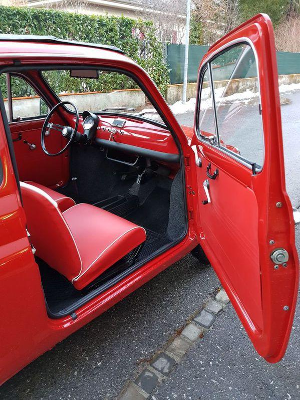 Fiat 500 Jahrgang 1968 ***Total Restauration*** Fiat 2