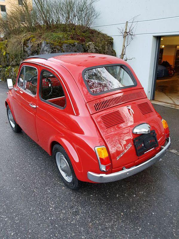 Fiat 500 Jahrgang 1968 ***Total Restauration*** Fiat 3