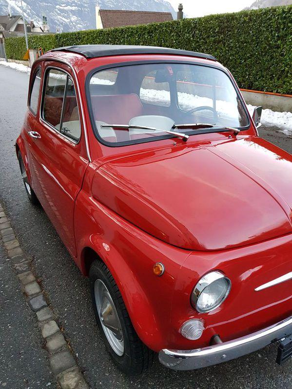 Fiat 500 Jahrgang 1968 ***Total Restauration*** Fiat 4