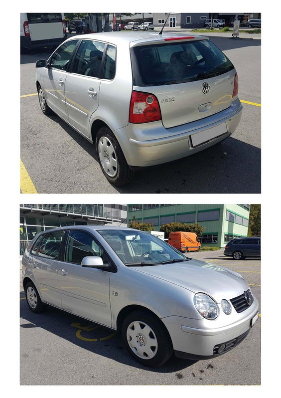 Occasion VW Polo 1.4 16V Comfort, mit MFK 04.18, Service und Zahnriemen neu VW 2