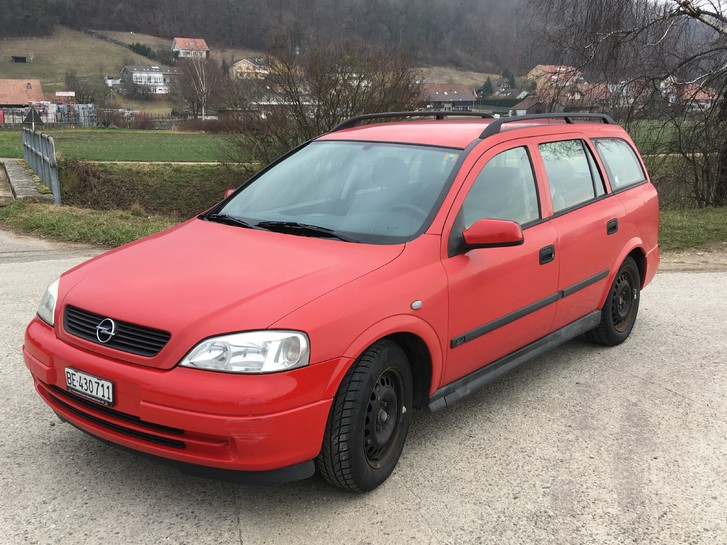 Rostfreier Opel Astra 1.4lt 16V Caravan (Kombi) ab MFK Opel 1