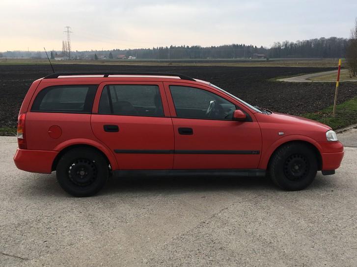Rostfreier Opel Astra 1.4lt 16V Caravan (Kombi) ab MFK Opel 2