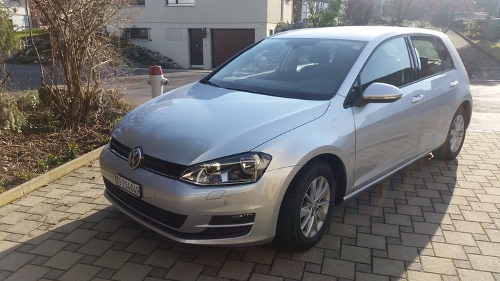 VW Golf 7 1.4 TSI Confort DSG Winterpaket VW 1