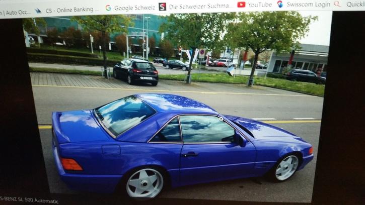 Schönes Cabriolet Mercedes 2