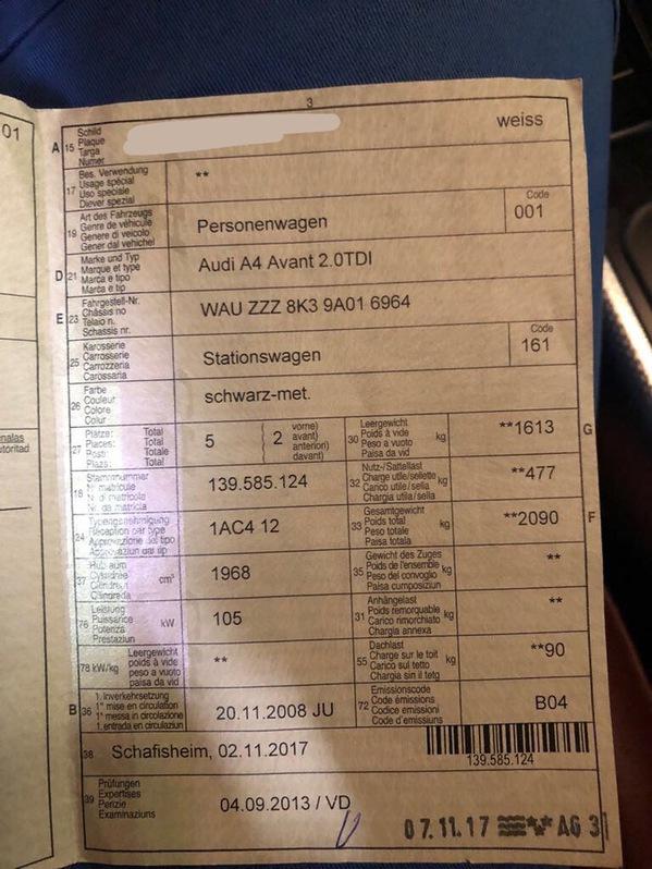 Audi A4 2.0 TDI Audi 2