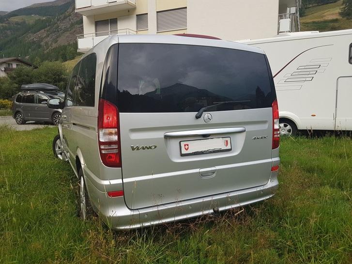 MERCEDES-BENZ VIANO Viano 2.2 CDI Blue Eff. Ambiente (Wohnmobil) Mercedes-Benz 2