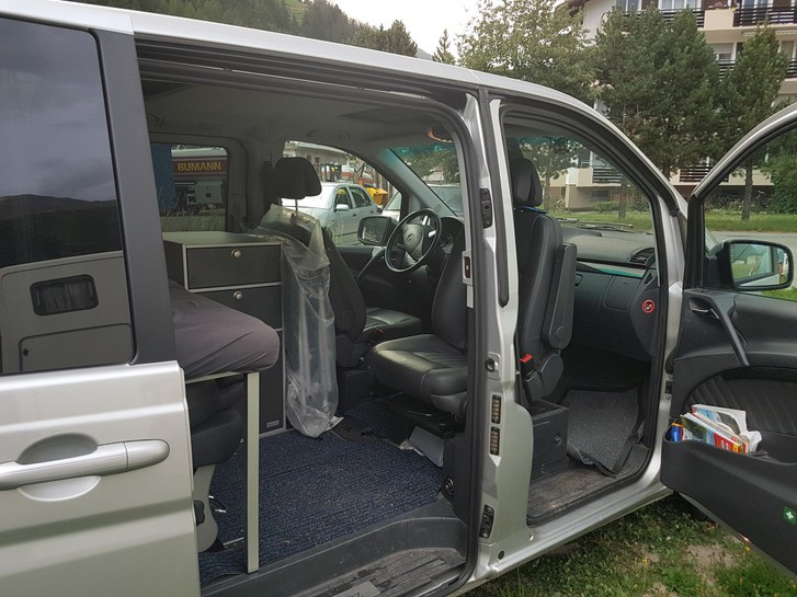 MERCEDES-BENZ VIANO Viano 2.2 CDI Blue Eff. Ambiente  Mercedes 4