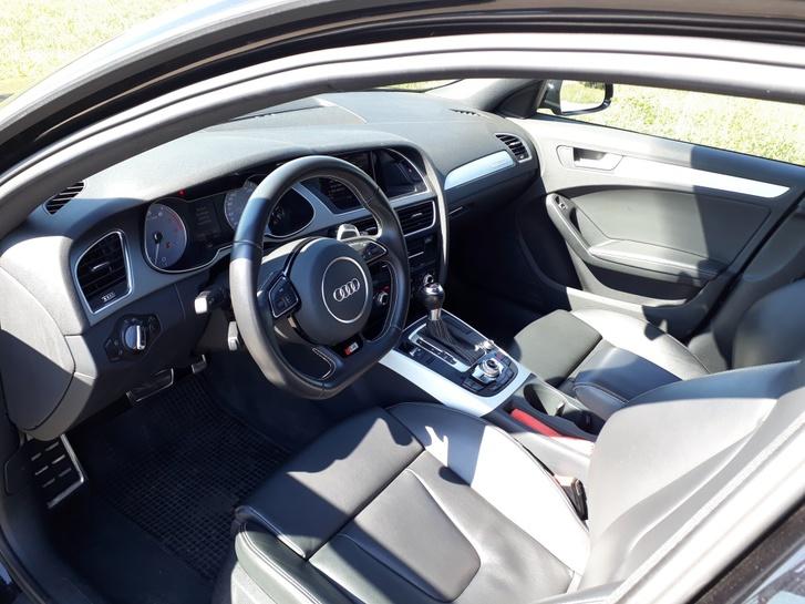 Audi S4 Avant 3.0 TFSI quattro S-tronic, schwarz Audi 3