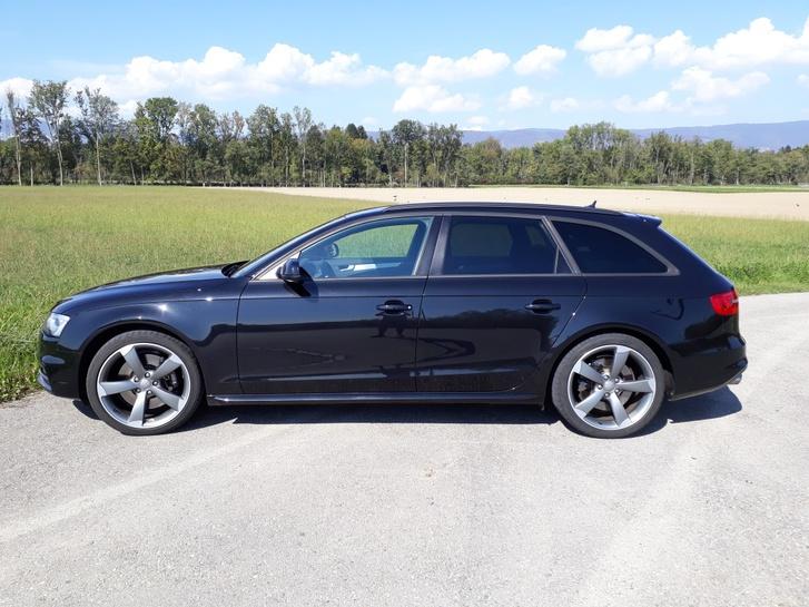Audi S4 Avant 3.0 TFSI quattro S-tronic, schwarz Audi 1