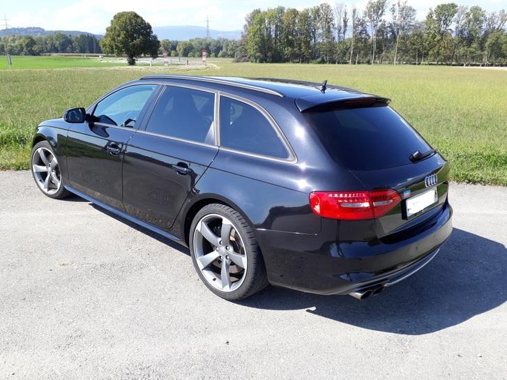 Audi S4 Avant 3.0 TFSI quattro S-tronic, schwarz Audi 2