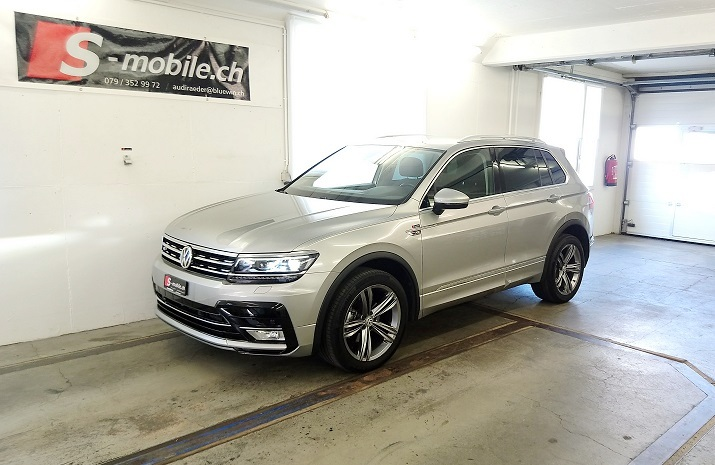 VW Tiguan 2.0 TDI Highline DSG R-LINE LED VW 2