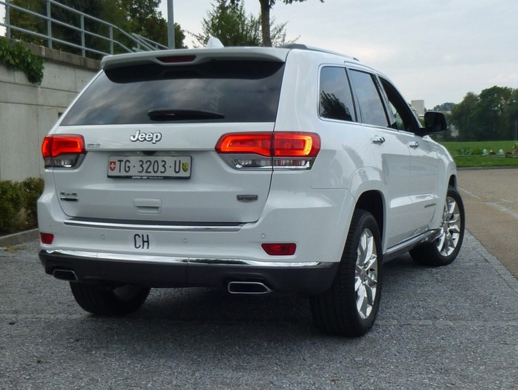 Grand Cherokee 3.0 CRD Summit Automatic Jeep 3