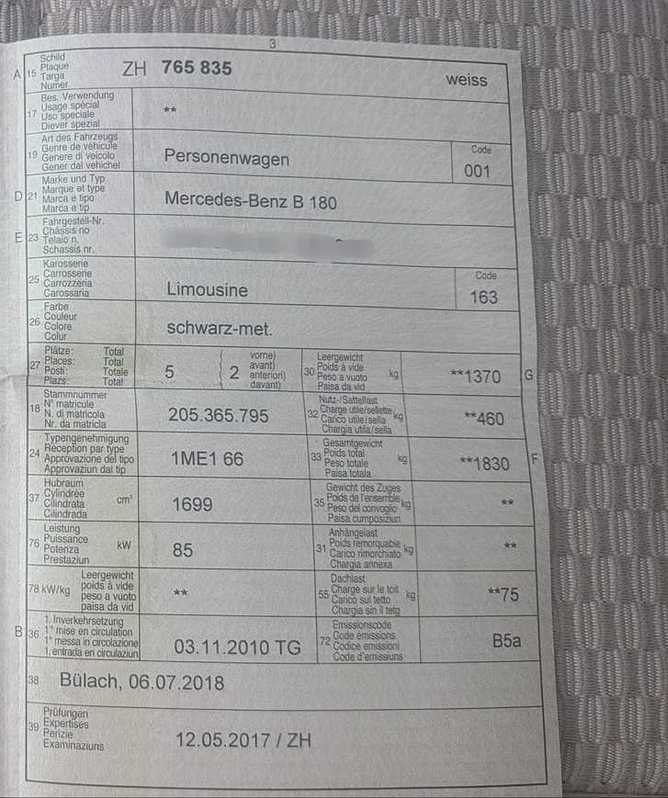 B180 autotronic NEU Kupplungsrep. ü. 2000 EUR  Mercedes 4