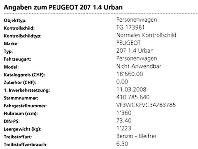 Peugeot 207 1.4 Urban Peugeot 4