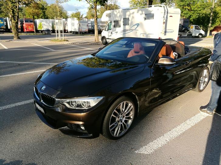 BMW 428i F33 xDrive Traum-Cabrio Sport-Line, M-Sport-Paket / BMW-Individual BMW 1