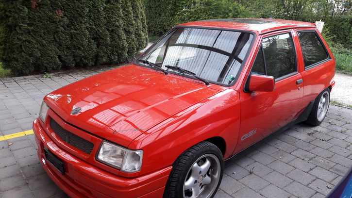 Opel corsa A GSI 1992 Opel 3