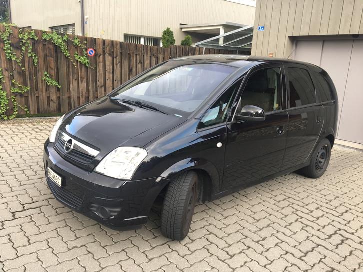 Opel Meriva 1.6 schwarz Opel 1