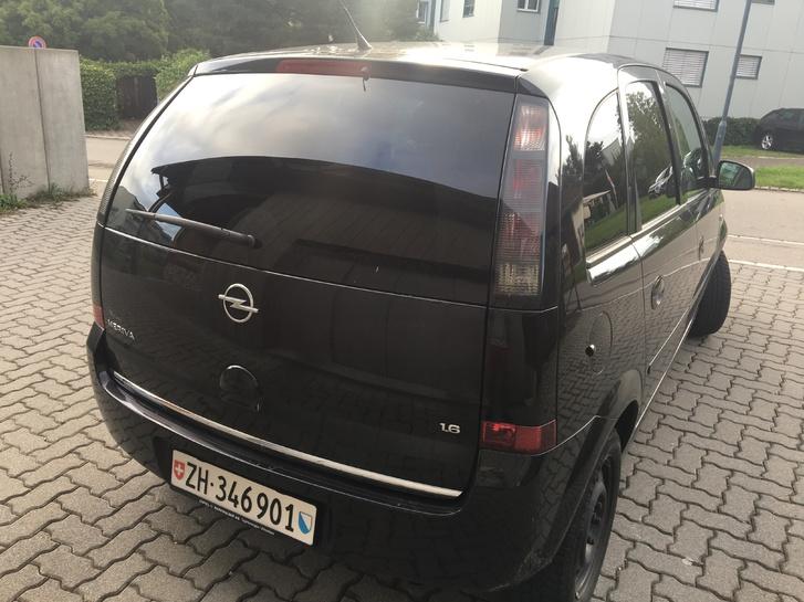 Opel Meriva 1.6 schwarz Opel 2