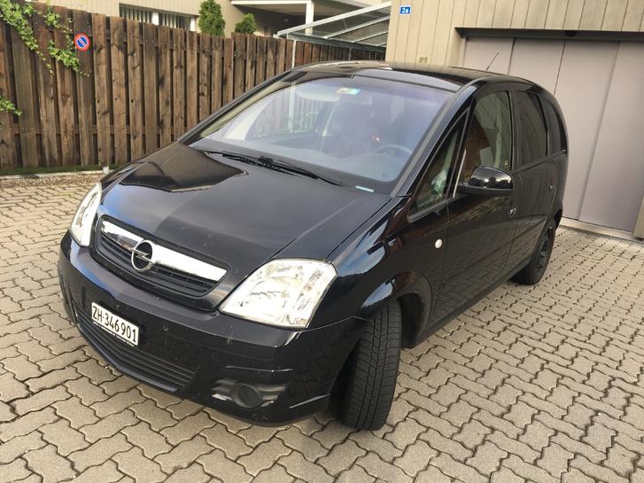 Opel Meriva 1.6 schwarz Opel 3