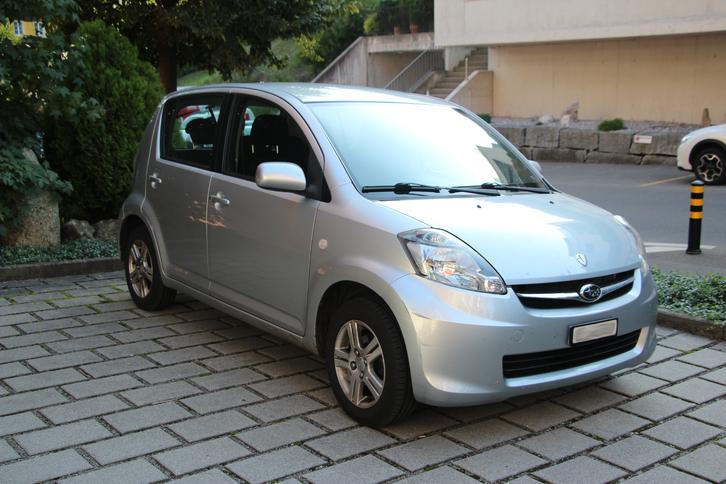 Subaru Justy 1.3L, Allradantrieb Subaru 1