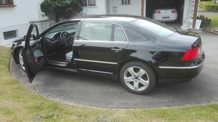 vw phaeton w12 2005 Lang version VW 2