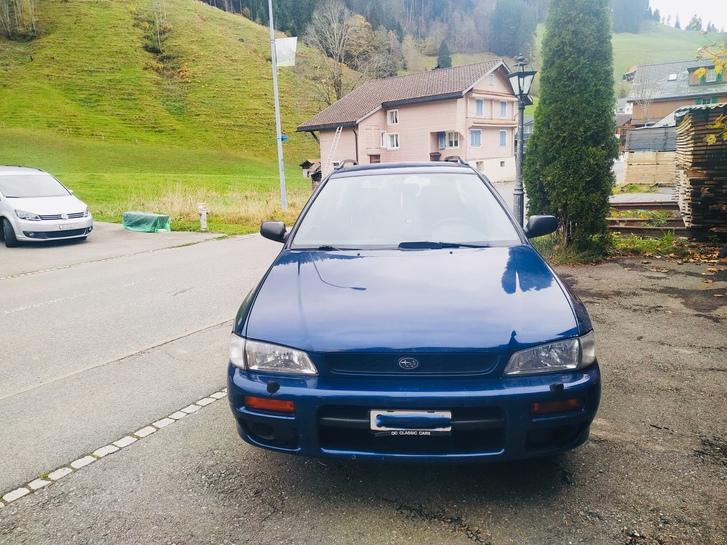 Subaru Impreza 2.0A /4x4 + neue Winterreifen Subaru 1