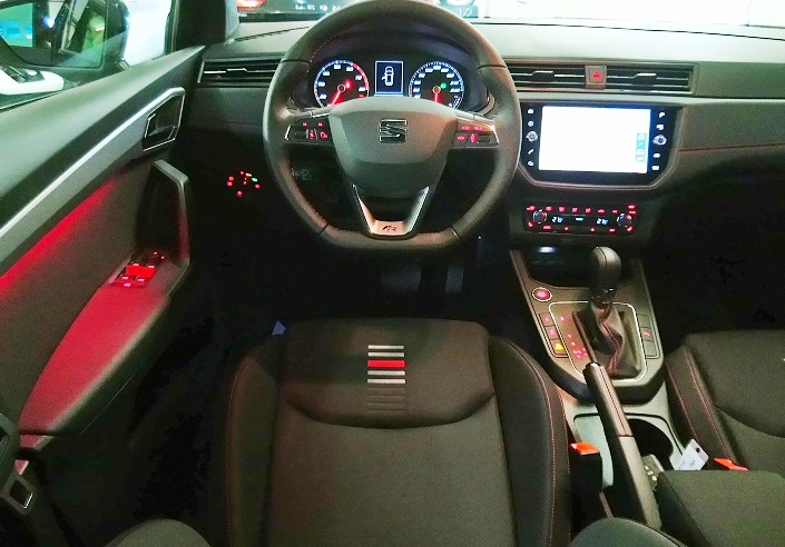 SEAT Ibiza 1.0 DSG SWISS FR Line, LED, KAMERA  Seat 3