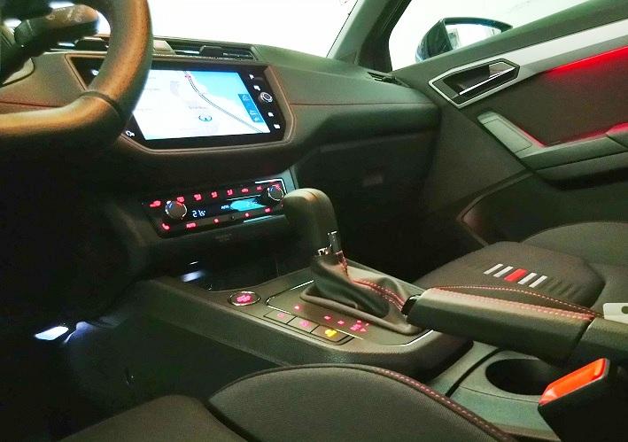 SEAT Ibiza 1.0 DSG SWISS FR Line, LED, KAMERA  Seat 4