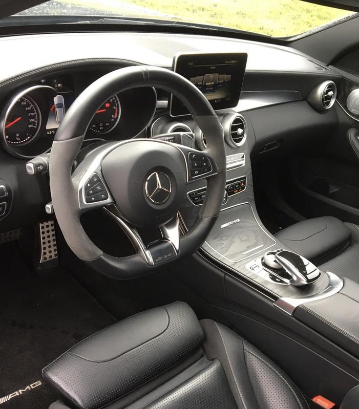 Mercedes C63 Kombi Mercedes-Benz 4