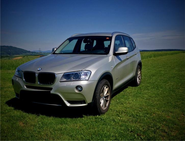 BMWX3 XDrive 20d Steptonic,Sehr gepflegte Fahrzeug, 8fach bereit,  BMW 2
