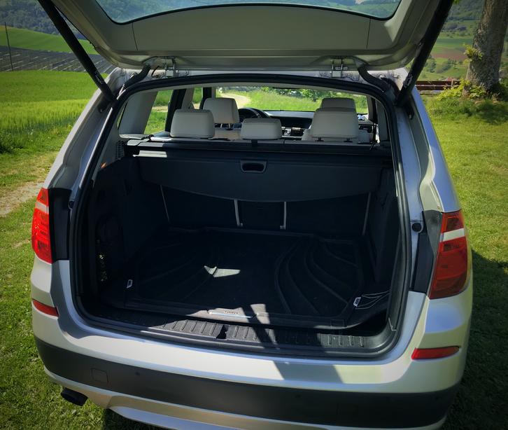 BMWX3 XDrive 20d Steptonic,Sehr gepflegte Fahrzeug, 8fach bereit,  BMW 4